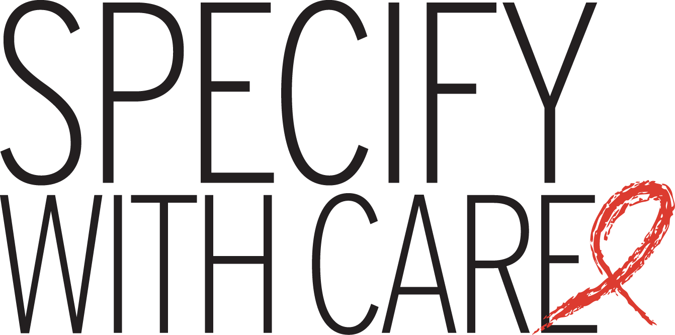 Specify with care logo